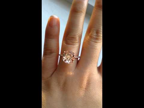 Rosados Box Eloise Morganite Engagement Ring