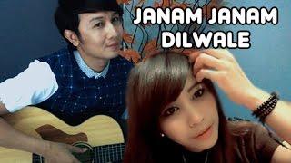 (OST.Dilwale) Janam Janam - Dhea Puse Shakwa & Nathan Fingerstyle | Guitar Cover | Arijit Singh Video