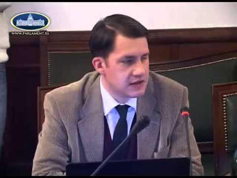Govor na sednici odbora Narodne skupštine - Odbor za ustavna pitanja i zakonodavstvo-cover