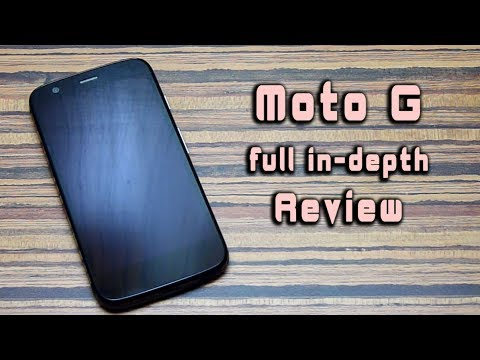 Moto G (with KitKat) full Review! [in-depth]
