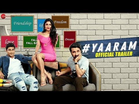 Yaaram - Official Trailer | Prateik Babbar, Siddhanth Kapoor, Ishita Raj, Subha Rajput