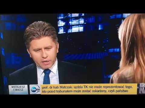 Internauci na Twitterze zachwycają się dzisiejszym gościem Moniki Olejnik
