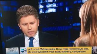 Internauci zachwycają się gościem Moniki Olejnik