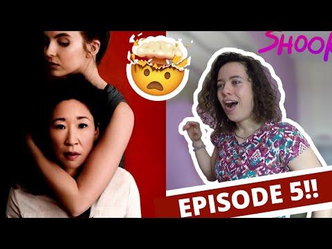 Killing Eve Reaction - Season 1 Episode 5
