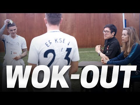 Video: CHRISTIAN ERIKSEN & KIERAN TRIPPIER | IN-KITCHEN WOK-OUT