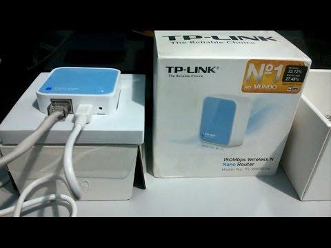 Configuração TP Link TL-WR702N Modo Cliente