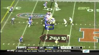 Ronald Powell vs Florida State (2011)