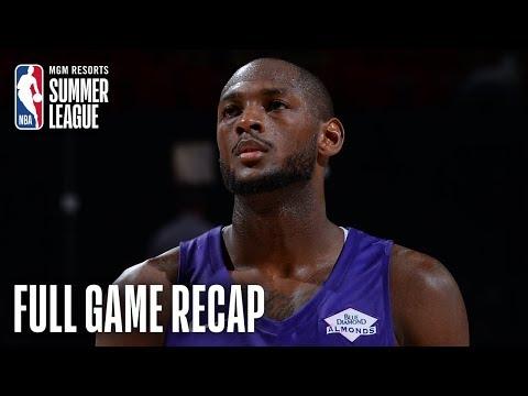Video: KINGS vs MAVERICKS   Doyle's 18 4th Q Points Seal Win   MGM Resorts NBA Summer League