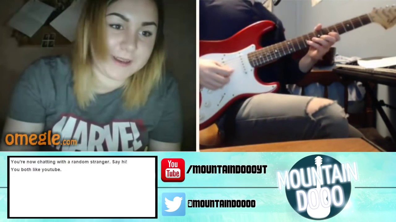 BEST GUITAR PLAYER ON OMEGLE?! (PLAYING GUITAR ONLINE Funny Moments)