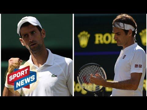 Roger Federer: Novak Djokovic admits surprise over Swiss ace'sWimbledonexit