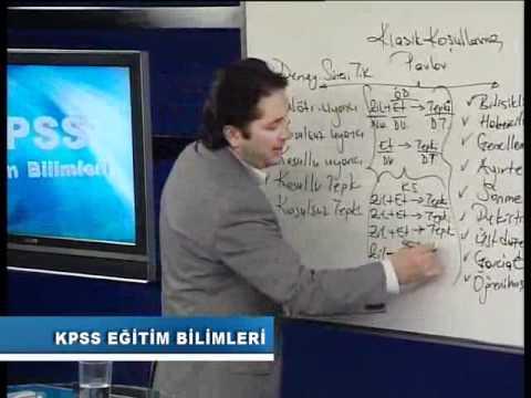 10-Öğrenme Psikolojisi  Temel kavramlar ve klasik koşullanma.flv