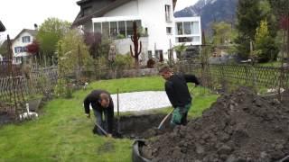 #592 Wie pflanze ich einen Grossbaum Teil 3v11 - Aufstellen des Krans