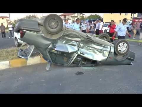 Bor İlçesinde Trafik Kazası ; 2 Yaralı