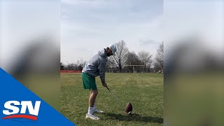 Top 10 Plays Of The Week Challenge Edition: Playing Golf With A Football!? by Sportsnet Canada