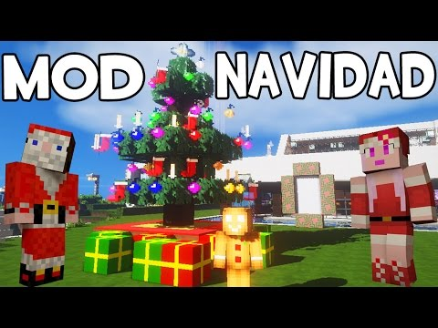 Mod navidad minecraft spirit of christmas free video for Blancana y mirote minecraft