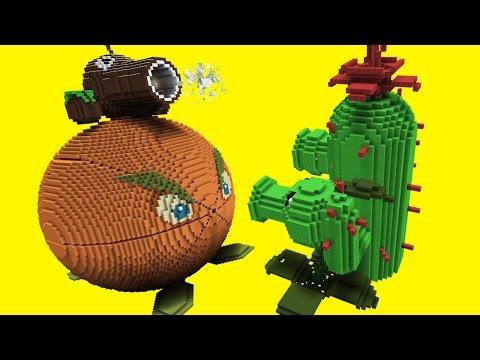 Minecraft vs Plants vs Zombies | GIGA CITRON | PEA SHOOTER | COCONUT CANNON | CACTUS - Thời lượng: 13 phút.