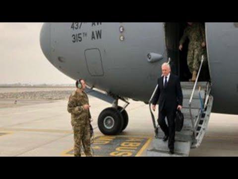 Ο Αμερικανός υπουργός Άμυνας στην Καμπούλ