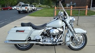 3. SOLD! 2001 Harley-Davidson FLHRI Road King 9142