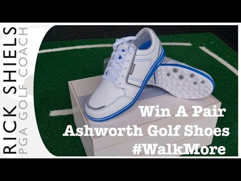 WIN- Ashworth Cardiff ADC Golf Shoes #WalkMore