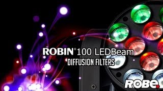 ROBIN 100 LEDBeam Filtres