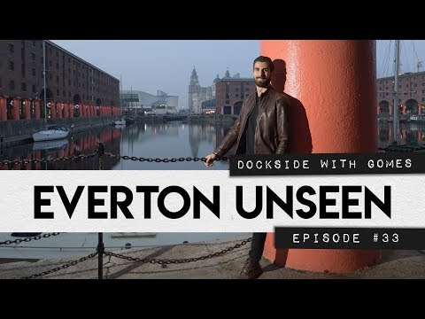 Video: ANDRE GOMES STRIKES A POSE | EVERTON UNSEEN #33