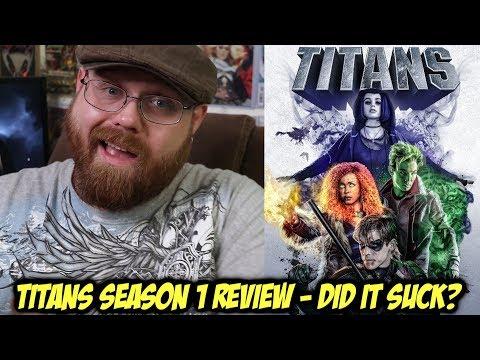 Titans Season 1 - Review!!!