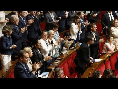 العرب اليوم - شاهد: الجمعية الوطنية الفرنسية تتبنّى مشروع إصلاح السكك الحديدية