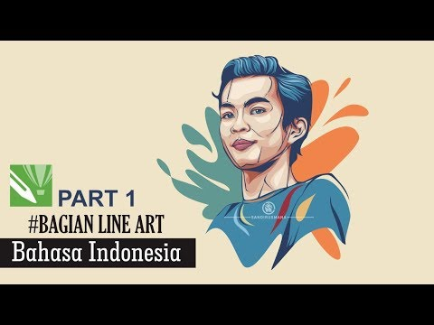 TUTORIAL MEMBUAT VECTOR ART DENGAN CORELDRAW X7 PART #1