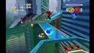 Sonic Heroes: Grand Metropolis (Team Sonic)