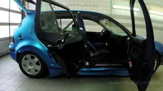 This Car Is About To Be Wrapped With Blue Vinyl, Watch How They Do It