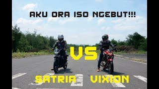 Video #17 VIXION VS SATRIA | speeding di landasan pacu MP3, 3GP, MP4, WEBM, AVI, FLV Januari 2019