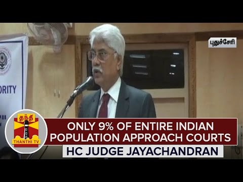Only-9%-of-entire-Indian-Population-approach-Courts--HC-Judge-Jayachandran