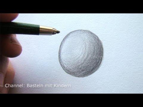 Zeichnen lernen mit Bleistift – Schattierungen
