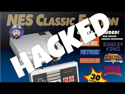 How to HACK NES Classic - Add NEW GAMES to NES Mini | RGT 85