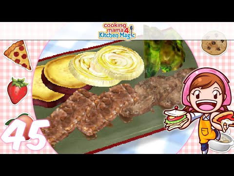 [Let's Play] Cooking Mama 4 Kitchen Magic - EP45: Yakiniku (^▽^)