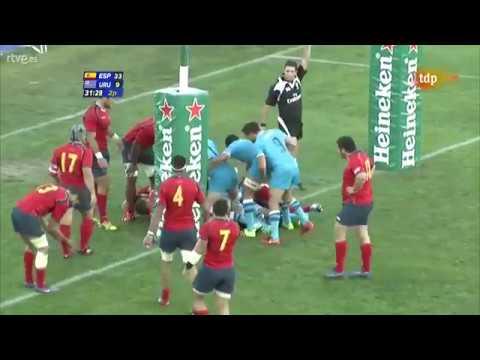España 33 v 16 Uruguay