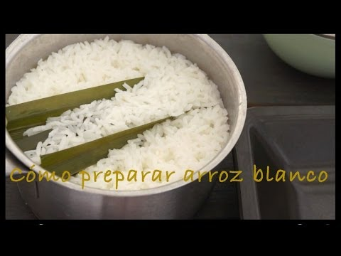 Cómo Preparar Arroz Blanco Con Una Olla Normal