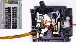 Video How a Circuit Breaker Works in Slow Motion - Warped Perception - 4K MP3, 3GP, MP4, WEBM, AVI, FLV Agustus 2018