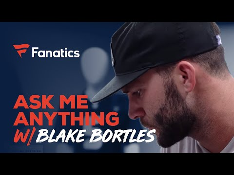 Ask Blake Bortles Anything: From hardest NFL hit to signing a baby in college | #FanaticsAMASeries