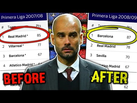 Video: 10 Managers That Saved Their Club | Guardiola, O'Neill & Redknapp!