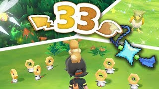Pokémon Let's Go Pikachu & Eevee - Completing the Pokédex: Shiny Charm Get! by Munching Orange
