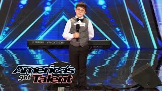 Adrian, a 9-year-old, piano-playing smarty pants wins over the judges with his charm and amazing musical skills. See him rock the ...