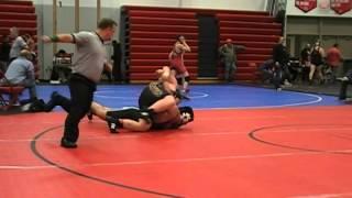 Tyler Gorman Belton vs Matt Pecka Washington 285 lbs