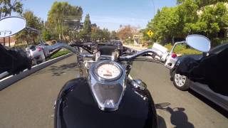 6. GoPro Hero 3+ Suzuki Boulevard c50 2008 Ride in Mission Viejo