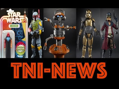 TNINews: Star Wars Mandalorian, The Rise Of Skywalker, Galaxy's Edge, Fallen Order, SDCC Exclusives