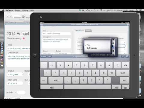 FileMaker Web Seminar: Idea to iPad - Project Tracker