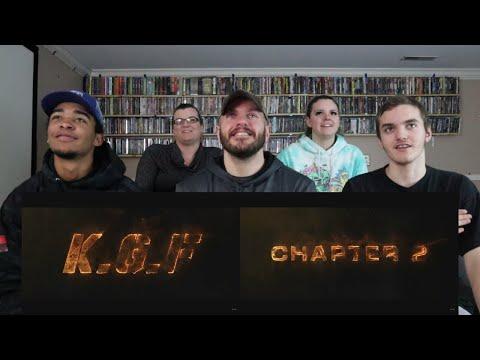 KGF Chapter2 TEASER REACTION! | Yash