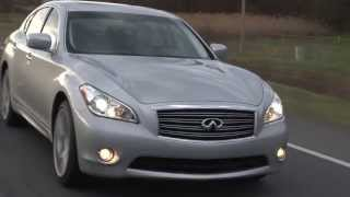 2013 Infiniti M56 - Drive Time Review With Steve Hammes