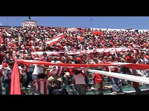 Aguante de la FR en el graderío contra liga de Quito - Furia Roja - Técnico Universitario