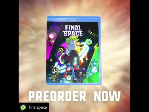 Pre-order Final Space Blu-Ray #FinalSpace
